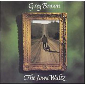 Greg Brown - Iowa Waltz [CD] USA import