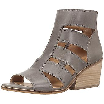 Lucky Brand Womens Sortia Leather Open Toe Casual Strappy Sandals