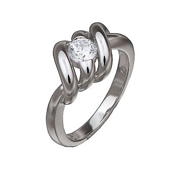 Orphelia Silver 925 Ring Solitaire  ZR-3639