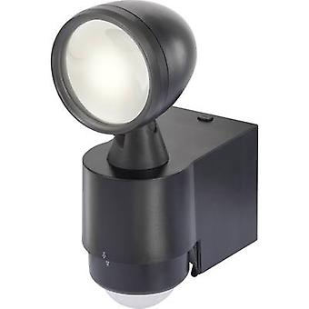 Renkforce Cadiz 1435591 LED outdoor floodlight (+ motion detector) 1 W Neutral white Black