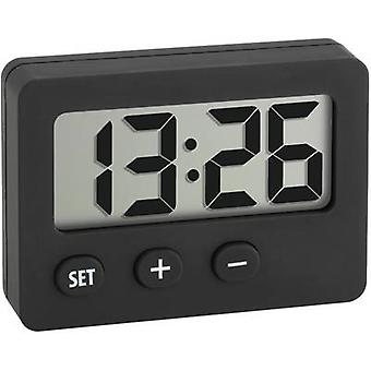 Quartz Desk clock TFA 60-2013-01 Black