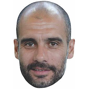 Pep Guardiola 2D Single Card Party Face Mask