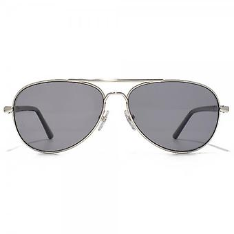 Montblanc Pilot Sunglasses In Silver