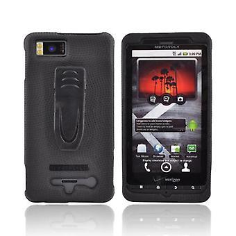 Body Glove Snap-On cas pour Motorola Droid X MB810 (noir) (emballage en vrac)