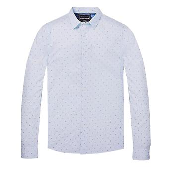 Scotch & Soda All Over Printed Long Sleeve Shirt