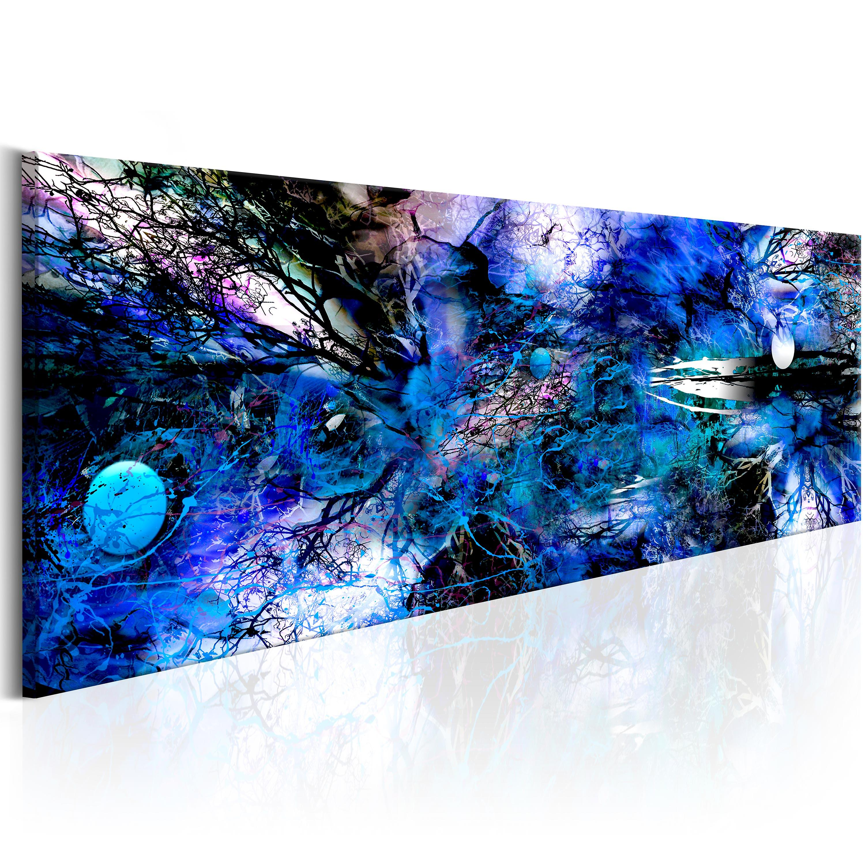Tableau - bleu Artistic Chaos