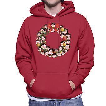 Natale corona Multi Steven universo felpa con cappuccio