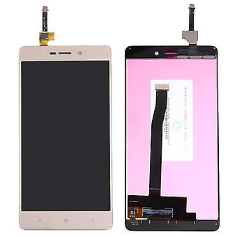 Per Xiaomi Redmi 3 riparazione display unità completa LCD full touch gold nuovo