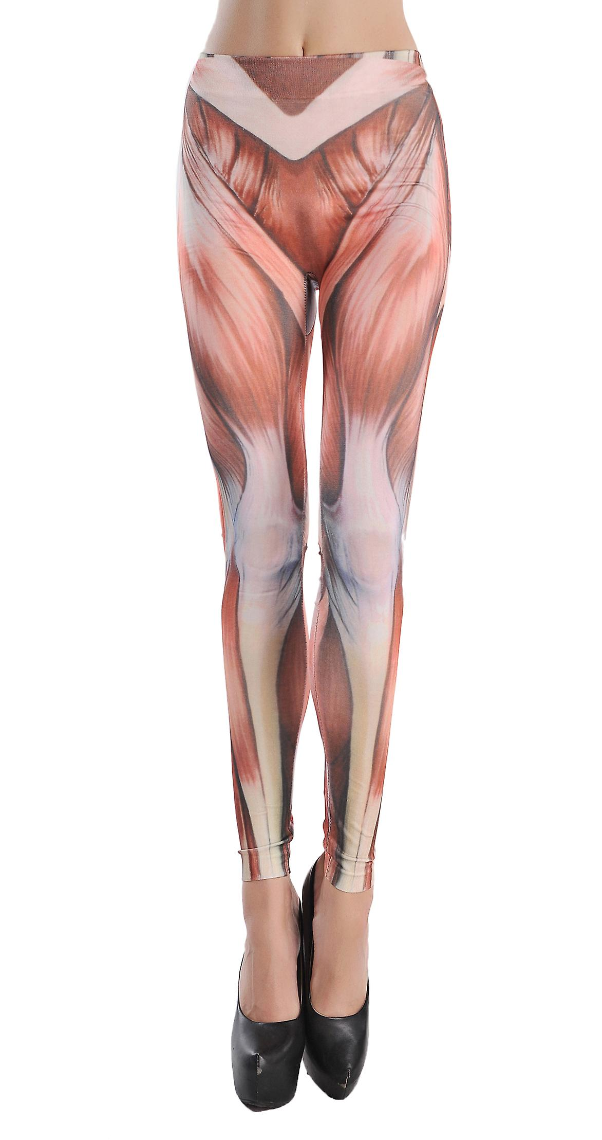 Waooh - Fashion - Leggings pattern muscles