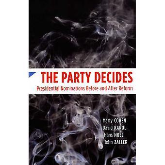 El partido decide - nominaciones presidenciales antes y después de reforma b