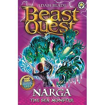 Narga the Sea Monster by Adam Blade - 9781408300008 Book