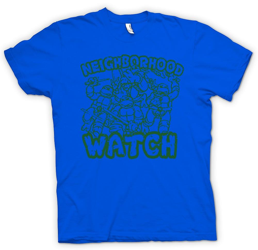 Mens T-shirt - Teenage Mutant Ninja Turtles - Neighborhood Watch