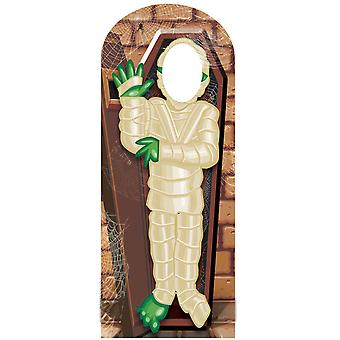 Zombie Mummy Halloween Cardboard Stand-in Cutout / Standee