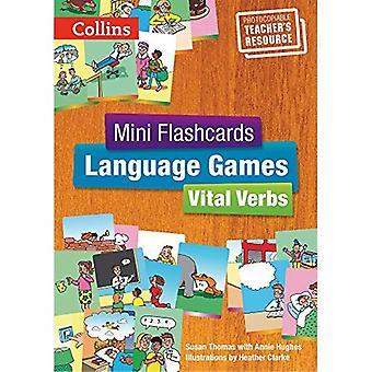 Verbos vitais - livro do professor (Flashcards Mini jogos de linguagem)