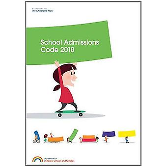 School admissions code 2010 (Human Rights Files)