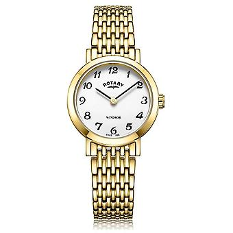 Rotary   Ladies Gold Plated Bracelet   LB05303/18 Watch