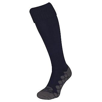 Optimum Classico Football Soccer Rugby Sport Socks Navy Blue