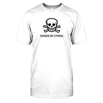 Kraniet og krydsede - lavet i Kina børn T Shirt