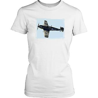 Messerschmitt alemán combatiente plano las señoras T Shirt