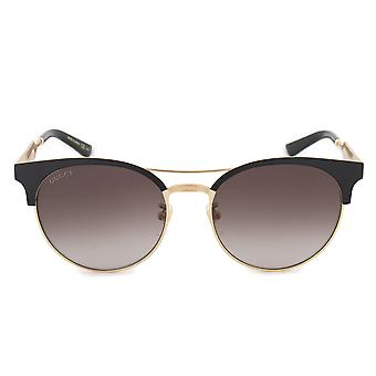 Gucci runde solbriller GG0075S 002 56