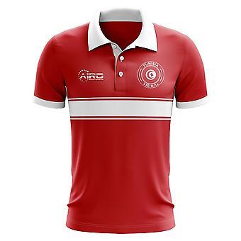 Koszulka Polo pasek koncepcja Tunezja (czerwony)
