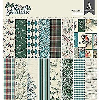 Authentique Solitude 12x12 Inch Paper Pad (SOL012)