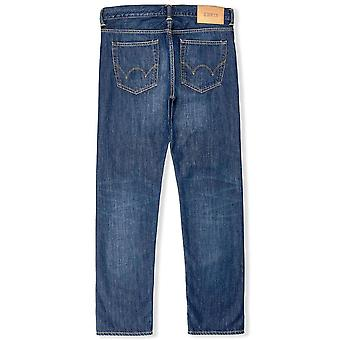 Edwin ED80 Slim Tapered Jeans Kingston Blue Denim  Mid Coal Wash