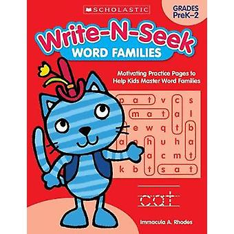 Word Families - Motivating Practice Pages to Help Kids Master Word Fam