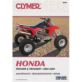 Clymer Honda TRX450R and TRX450ER - 04-09 by Ron Wright - 97815996941