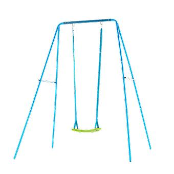 TP Toys 2 in 1 Metal Swing Set With 2 Seats Blue