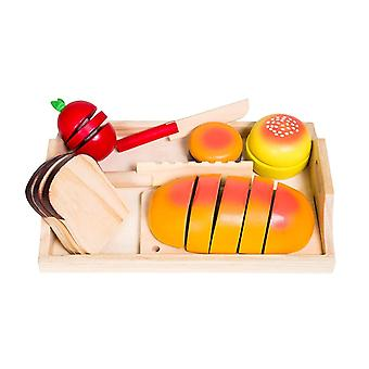 Glow2B Germany U Wooden Bread Tray 19 Pieces Kids Toy