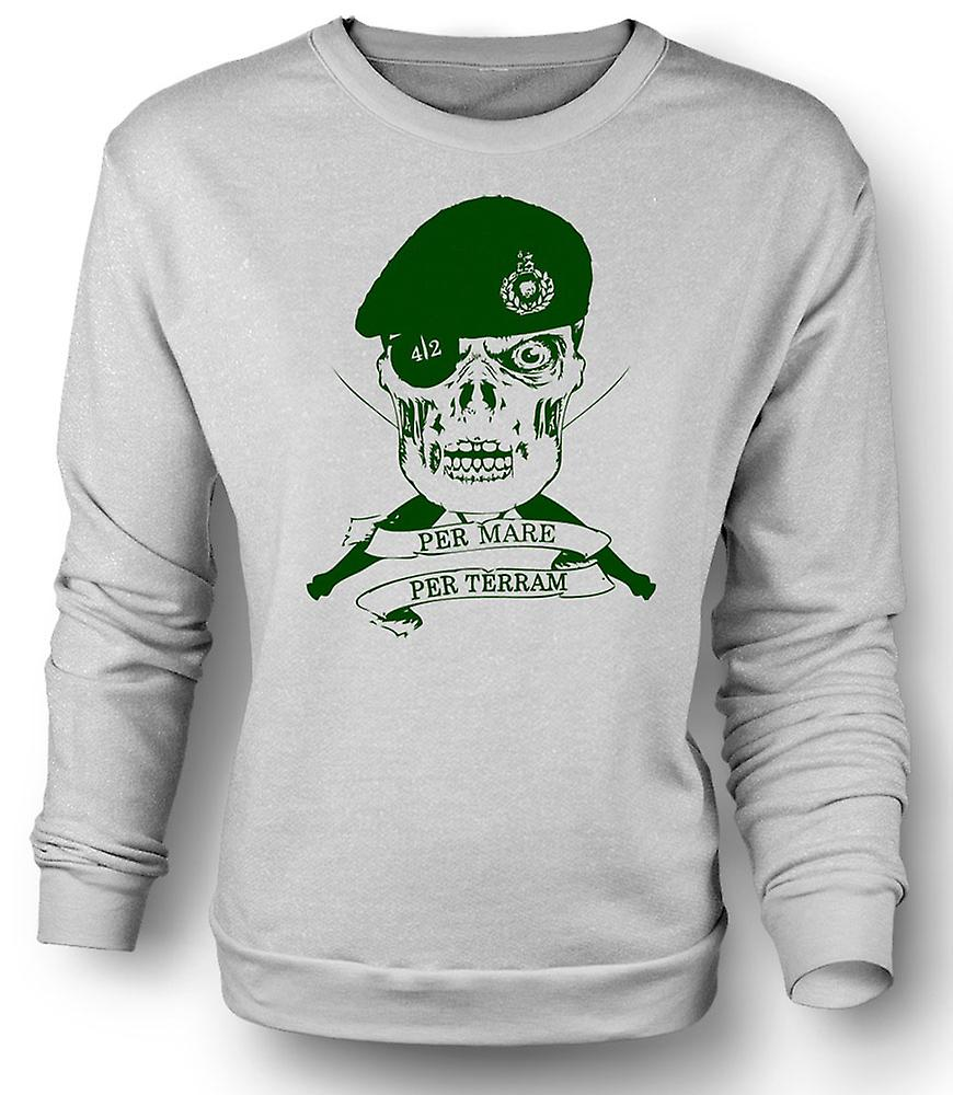 Mens Sweatshirt Royal Marines 42 Cdo devise