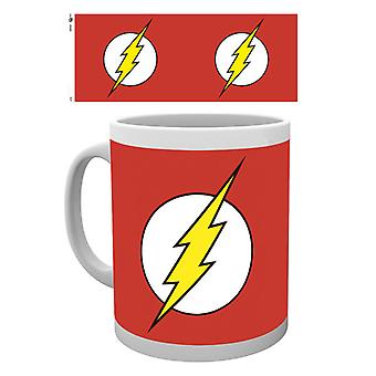 DC Comics The Flash Logo Boxed Drinking Mug