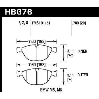 Hawk Performance HB676Z.780 PC