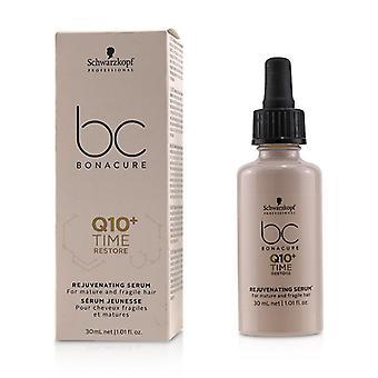 Schwarzkopf BC Bonacure Q10 + czas przywracania serum odmładzające (dla włosów dojrzałych i delikatnych) 30ml/1,01 uncji