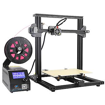 Creality 3d cr-10 mini 3d printer - diy design, 0.1mm accurate, lcd display,  300x220x300mm printing volume, g-code