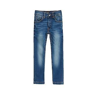 BOSS Kidswear Hugo Boss Boys Light Wash Skinny Fit Jean