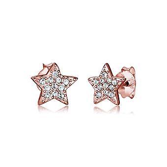 Elli (ELJW5) Silver Women's Pin Earrings - 306610717