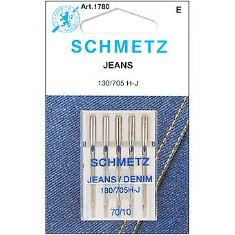 Jean & Denim Machine Needles Size 10 70 5 Pkg 1780