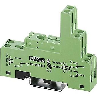 Phoenix Contact 2833521 PR1-BSC3/2X21 Relay Socket For Miniature Power Relays