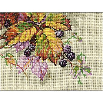 Blackberries Counted Cross Stitch Kit-10.25