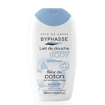 Byphasse bomuld blomst Shower creme 500 Ml