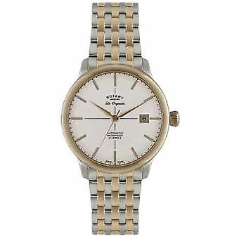 Rotary Mens Automatic Burlington Two Tone GB90061/06 Watch