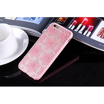 Mobile Shell mandala for Huawei P9 design case cover motif flakes cover bag bumper pink