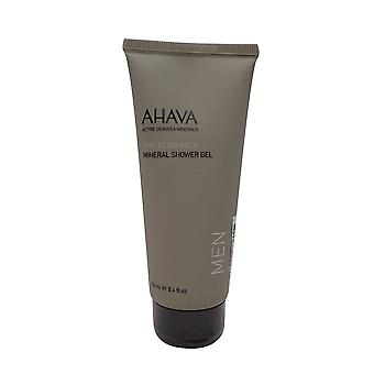 AHAVA Mineral Shower Gel for mænd, 3,4 oz.
