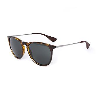 Ray-Ban Square indrammet Tortoise brun solbriller