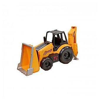 CAT Job Site Backhoe Machine L & S (Toys , Vehicles And Tracks , Mini Vehicles , Cars)