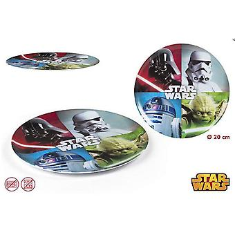 Import Star Wars-Plate Melamine (Home , Babies and Children , Eat , Kitchenware)