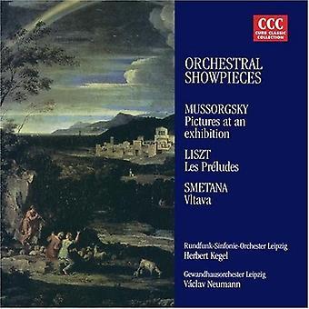 Moussorgski/Liszt/Smetana/Kegel/Neumann - oeuvres pour orchestre virtuose [CD] USA import