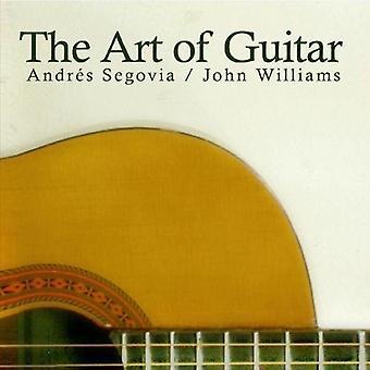 Andrts Segovia & John Williams - konst av gitarr [CD] USA import
